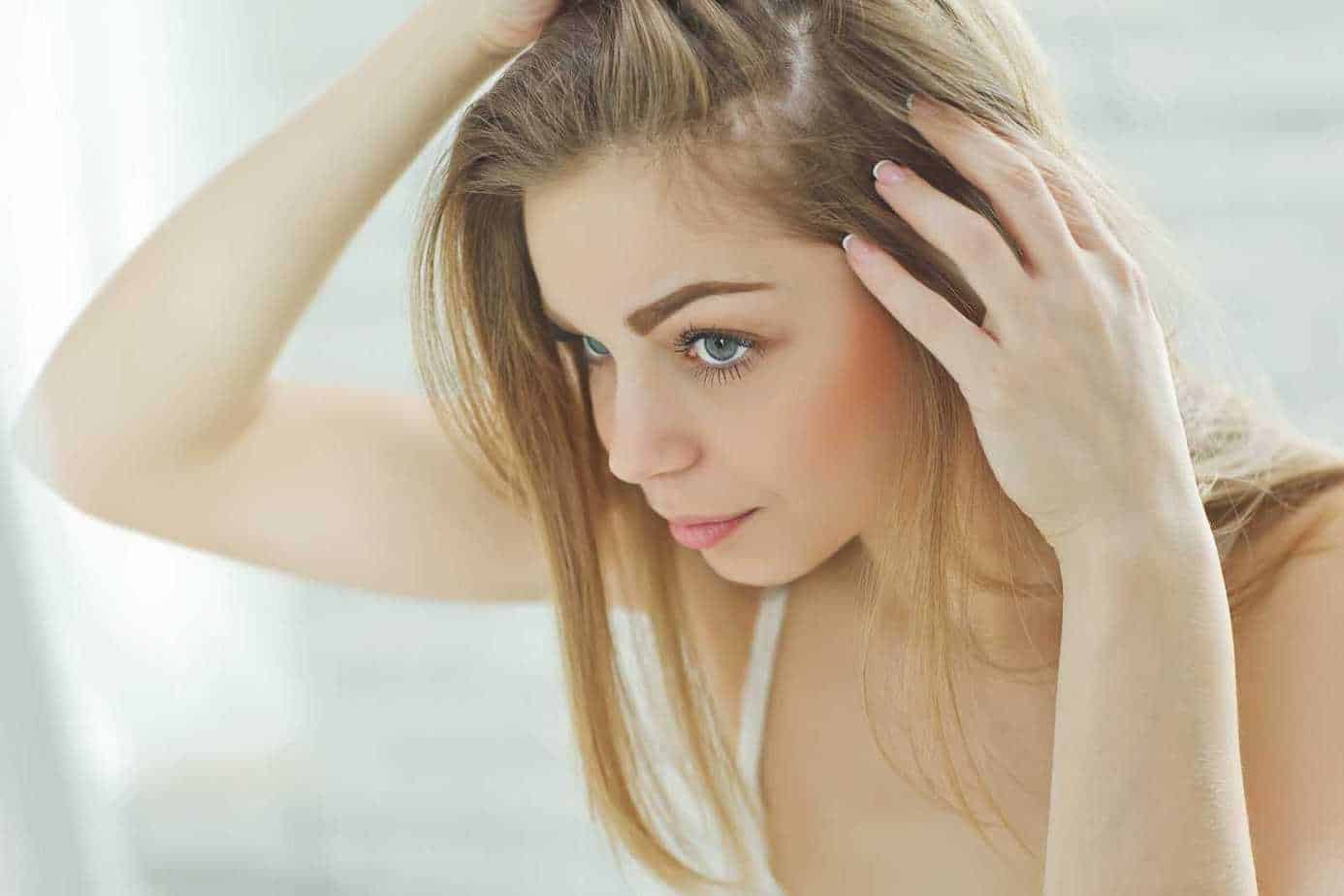 young female hair loss | wimpole clinic