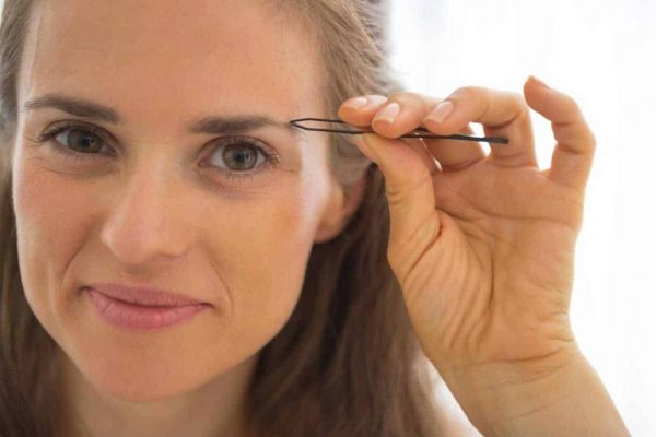 Restoring over plucked eyebrows